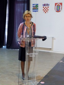 Predavačica Sandra Cvikić