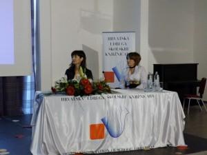 Moderatorice Marija Purgar i Vanja Jurilj