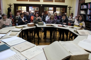 U Školskoj knjižnici Prve sušačke hrvatske gimnazije u Rijeci
