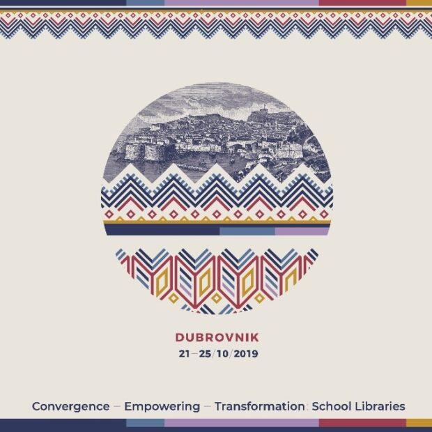 Vizualna rješenja za Svjetski kongres školskih knjižničara u Dubrovniku, autorica Tatjana Strinavić